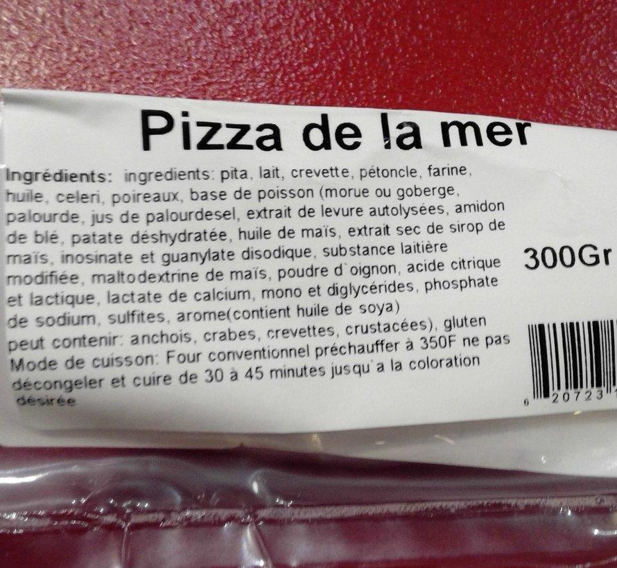 Pizza fruits de mer 300g