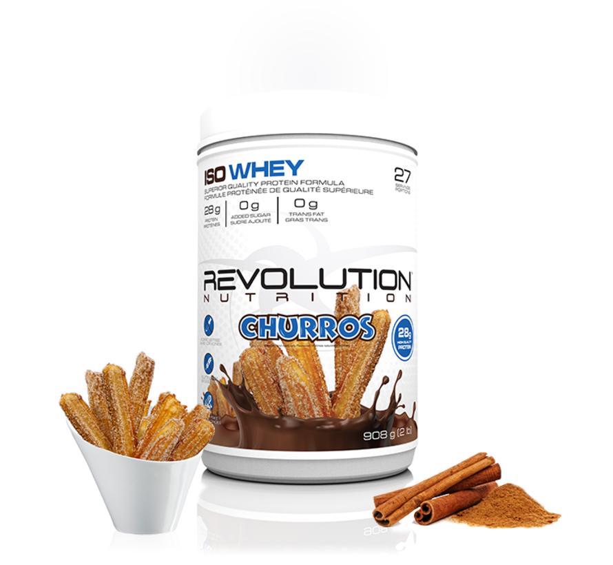 Revolution Whey Isolate - 2lb ou 6lb (4 saveurs disponibles)