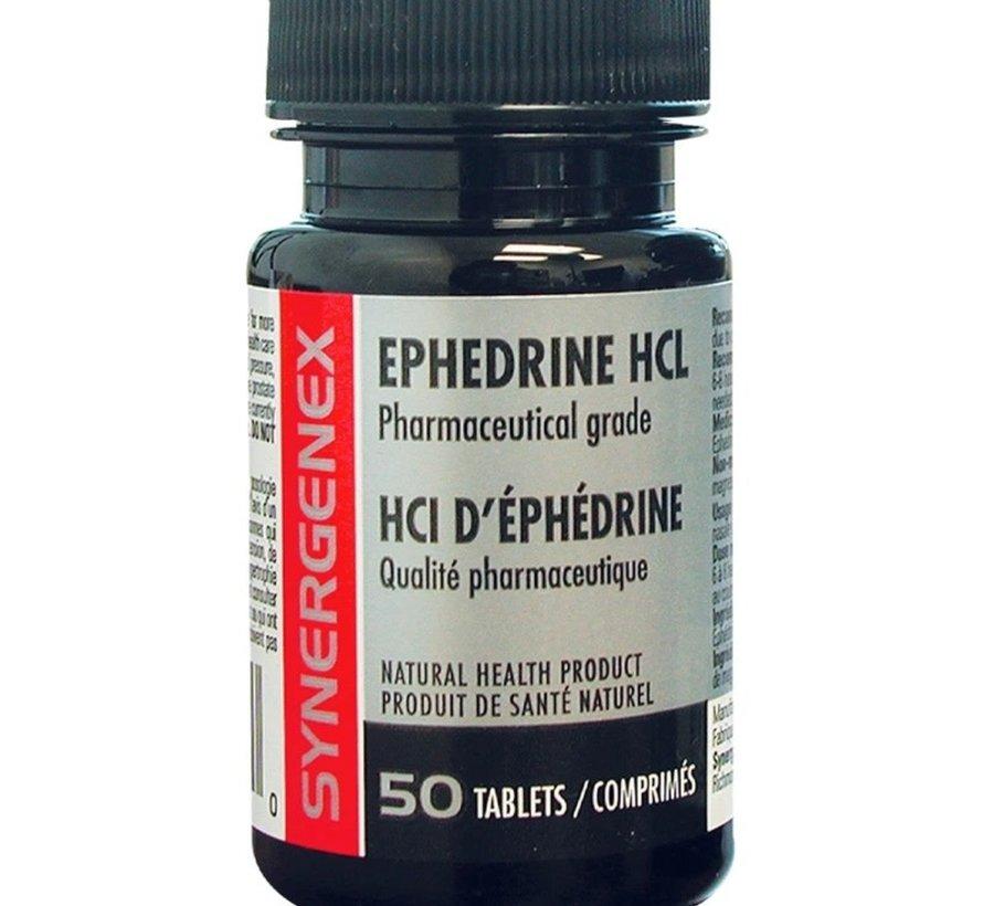 Synergenex Ephedrine 50 Tabs