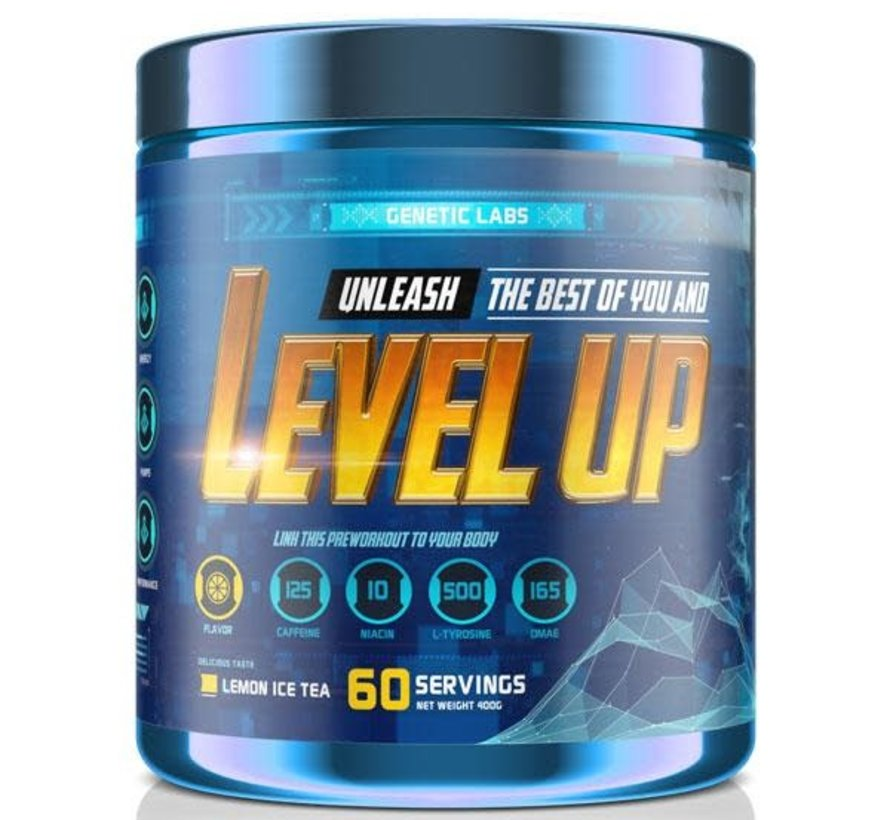 GENETIC LABS LEVEL UP 60 SERVINGS