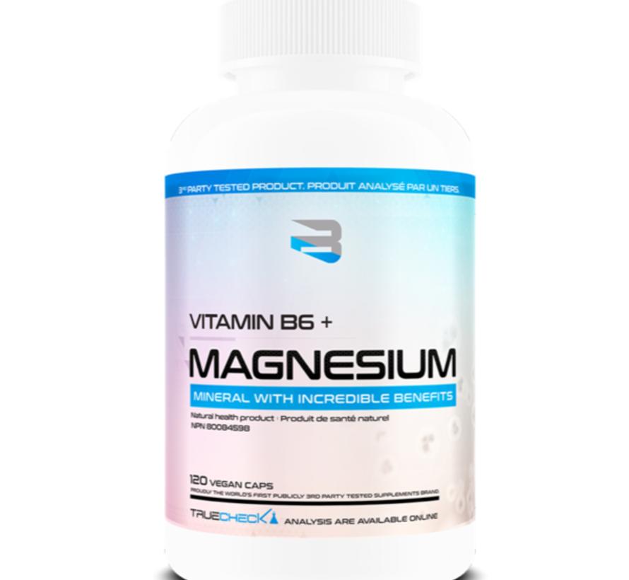 Believe B6 + Magnesium - 120 Caps