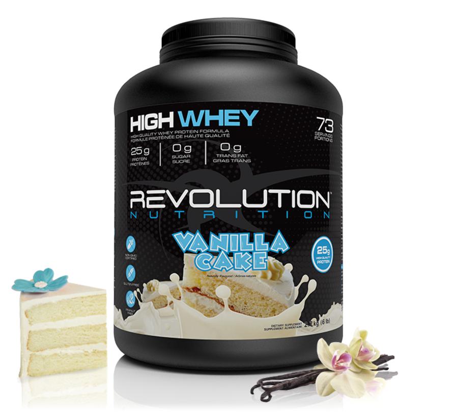 Revolution Whey - 2lb ou 6lb (4 saveurs disponibles)