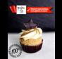 Le Merveilleux: cupcake au caramel Céto de Nathalie Prud'Homme