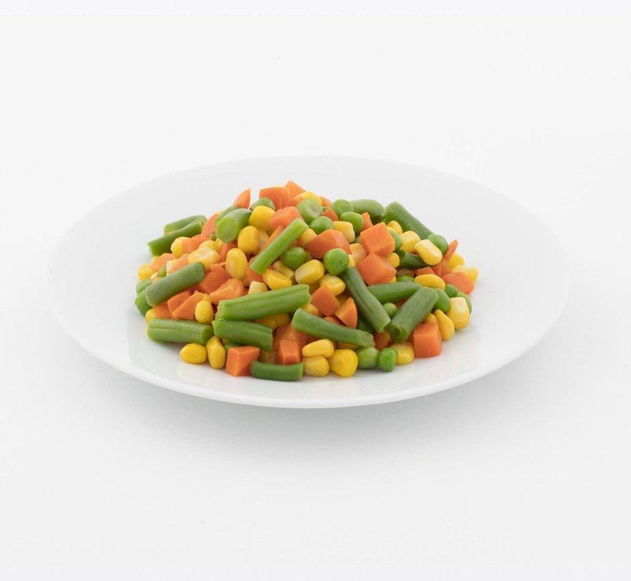 Mélange de légumes réguliers congelés, 2kg
