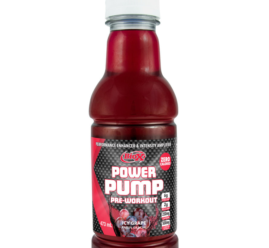 Bio-X Power Pump pre-workout Icy Grape