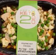 Keto2go Poutine hot chicken Keto / Cétogène (12g glu)