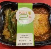 Keto2go Lasagne Bolognaise Keto / Cétogène (9g glu)