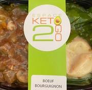 Keto2go Boeuf Bourguignon Keto / Cétogène (10.8 glu)