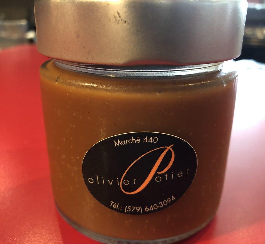 Tartinade caramel d'Olivier Potier, 212ml