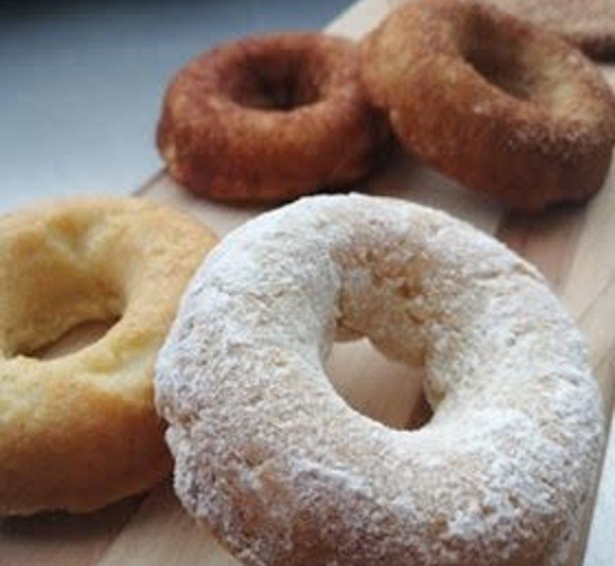 Beignes sucre glacé (paquet de 3)  Keto / Cétogène (glu: 2.5)