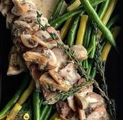 Keto2go Filet de porc sauce aux champignons Keto / Cétogène (glu: 5.58)