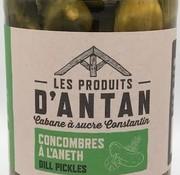 Produits d'antan Concombres à l'aneth (Dill Pickles)