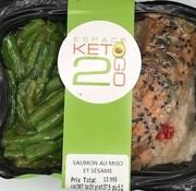 Keto2go Saumon au miso et sésame Keto / Cétogène (glu: 5.2)