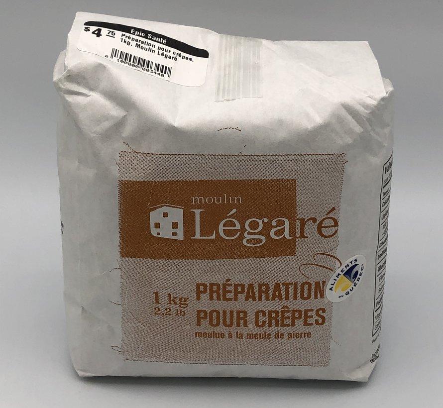 Préparation pour crêpes, 1kg, Moulin Légaré
