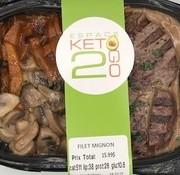 Keto2go Filet mignon Keto / Cétogène (glu: 10.6)