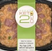 Keto2go Mac'n cheese jambon poireaux Keto / Cétogène (glu: 5.55)