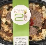 Keto2go poutine canard confit à la bière Keto / Cétogène (glu: 8.1)