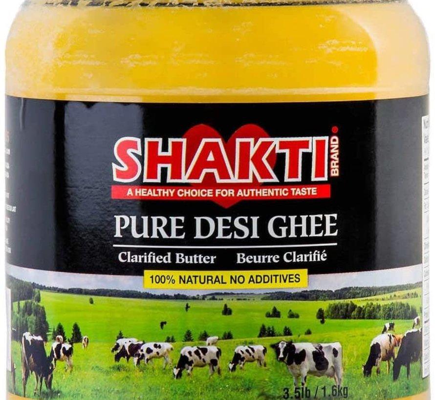 Beurre clarifié, ghee (1.6kg - Shakti)