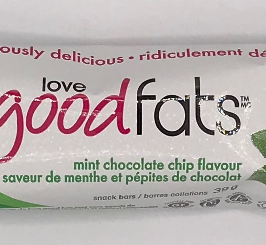 barres collation (39g - Love good fats)