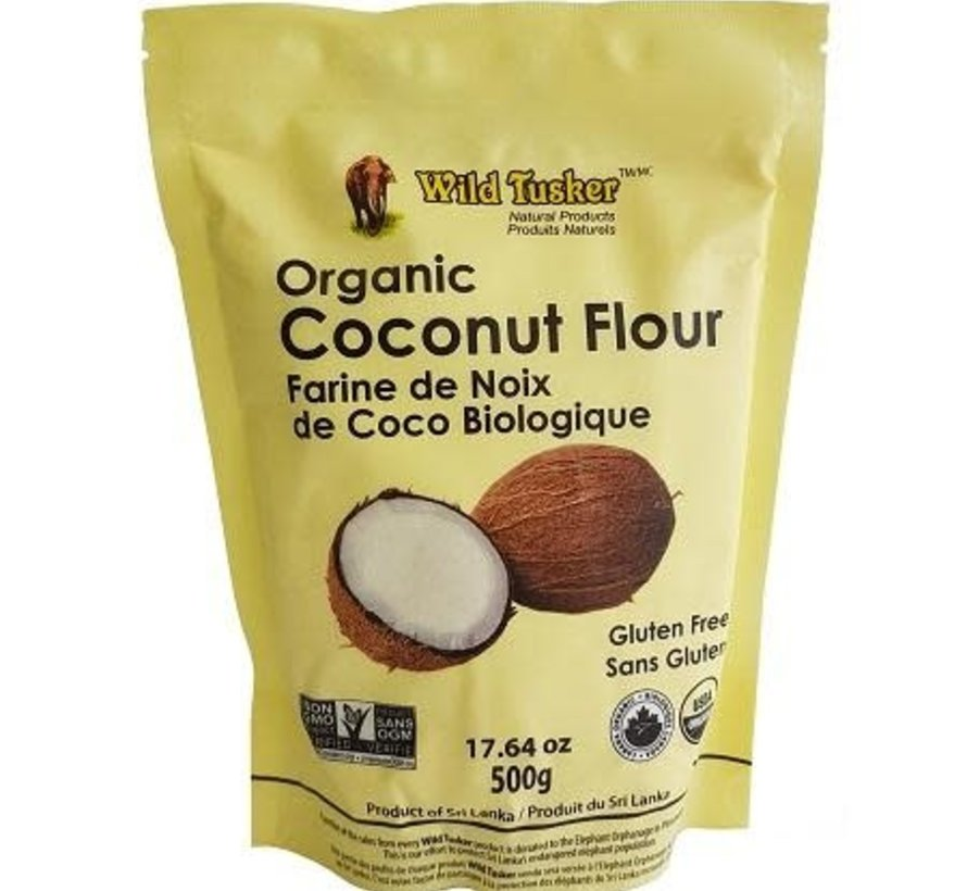 Farine de noix de coco biologique, 500g