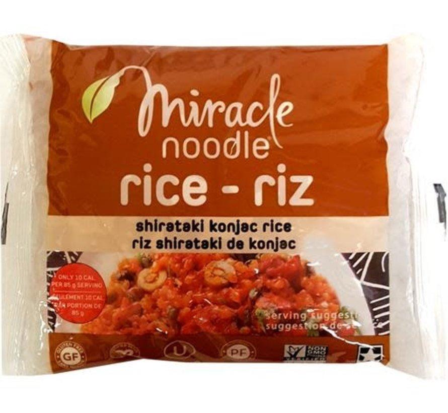 Nouilles Shirataki Miracle Noodle
