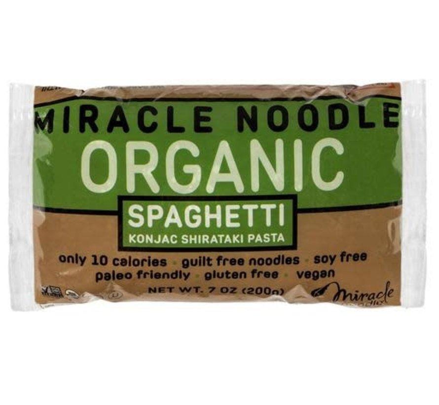 Nouilles Shirataki Miracle Noodle 200g - Spaghetti Bio
