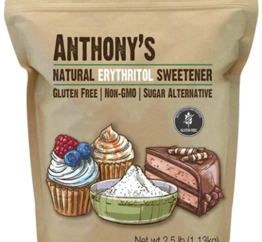 Érythritol en granules sans gluten et OGM (1.13 kg)