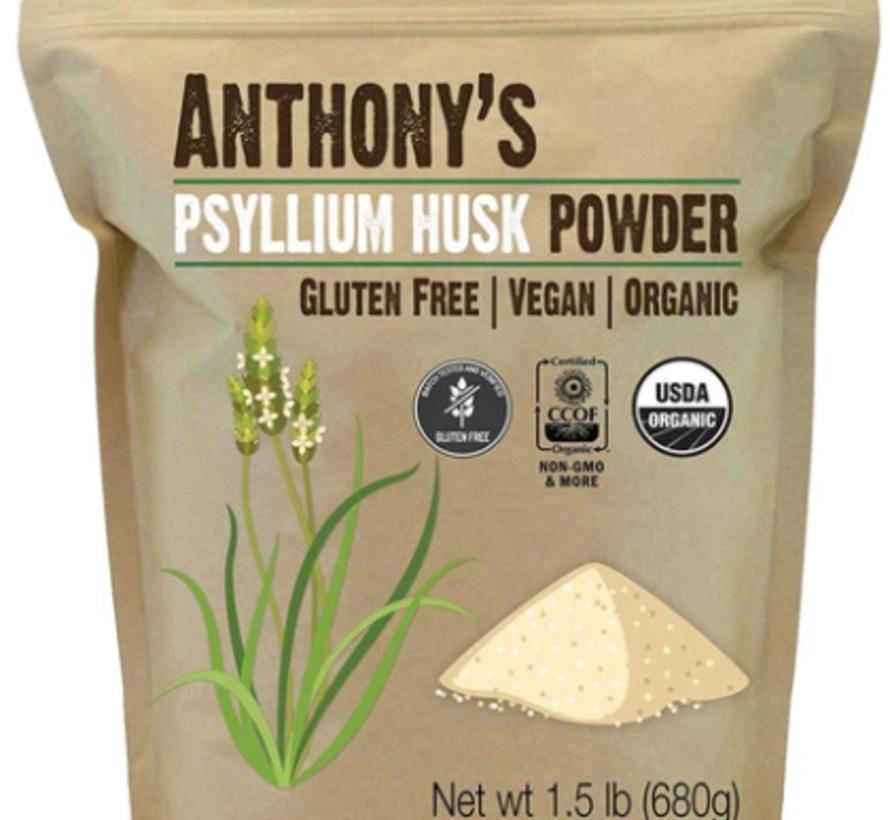 Psyllium en poudre biologique (680 g)