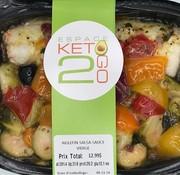 Keto2go Aiglefin salsa sauce vierge Keto / Cétogène (glu: 13.1)