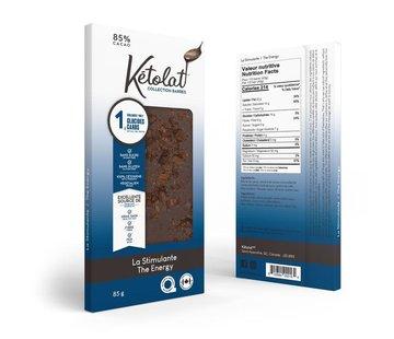Kétolat Barre de chocolat Kéto La Stimulante