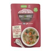Miracle Noodle Soupe aux nouilles au bœuf et au bouillon d'os, 215g
