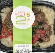 Keto2go Boeuf au cari vert Keto / Cétogène (glu: 9.9)