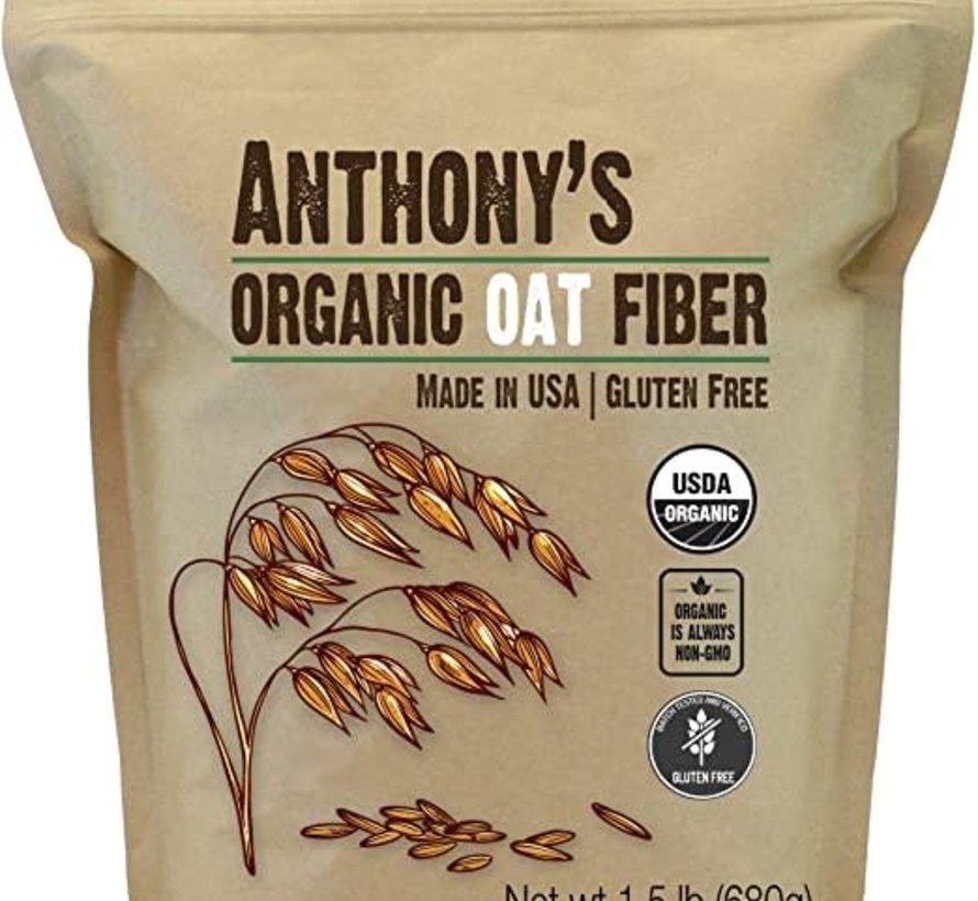 Fibre d'avoine biologique sans gluten et OGM (1.5 lb)