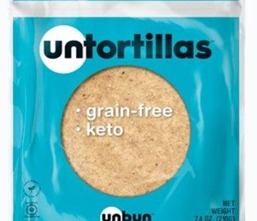 UNBUN Untortillas UNBUN - Tortillas (6/sac, 210g)