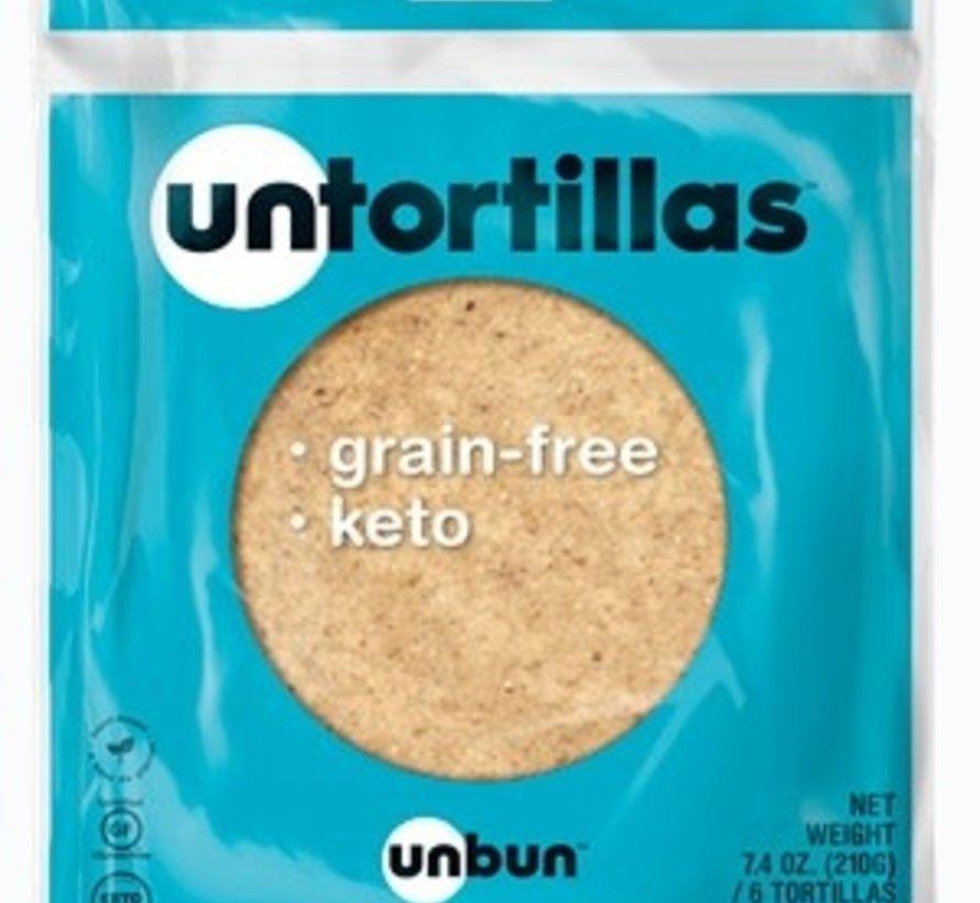 Untortillas UNBUN - Tortillas (6/sac, 210g)