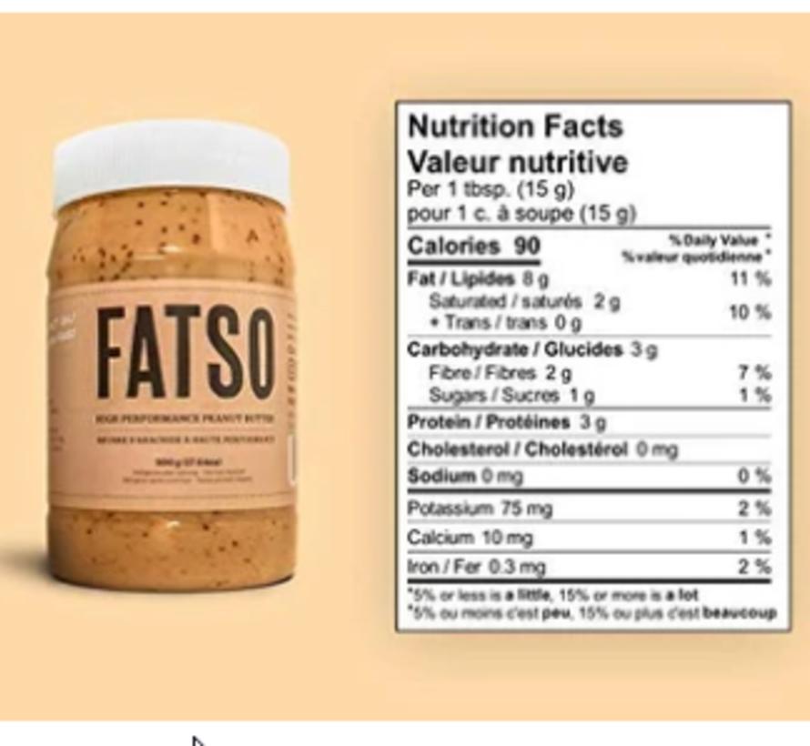 Beurre d'arachide à haute performance 500g
