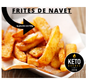 Frites de Navet congelés (500 g)