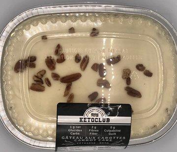 KetoClub Gâteau au carottes Keto / Cétogène (glu: 1 g / 28 g)