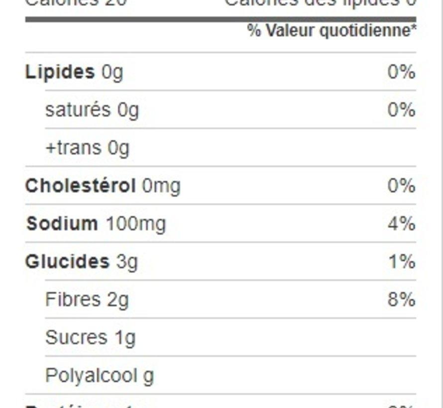 Riz de chou-fleur biologique, 340g