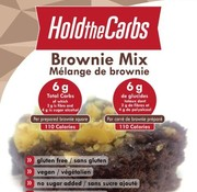 Hold the carbs Mélange de brownie, 300g