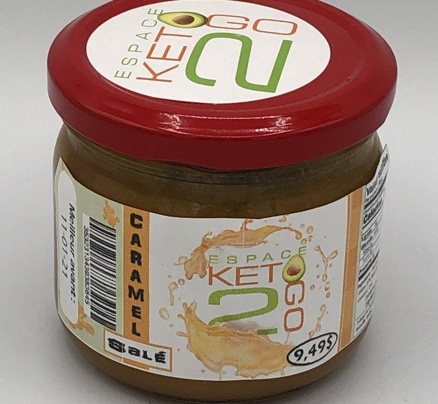 Caramel salé Keto / Cétogène (glu: 0.5 / 30 mL)