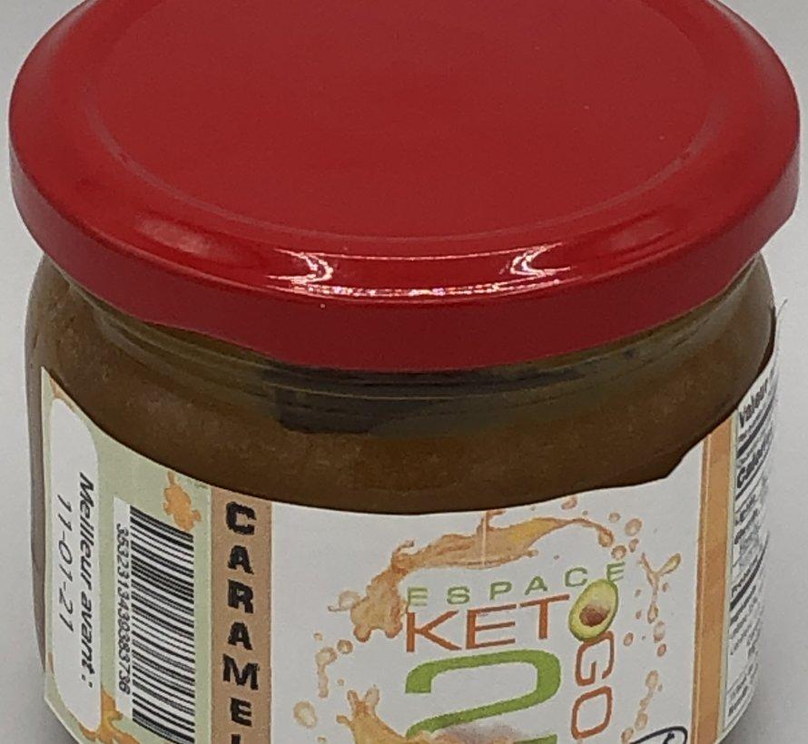 Caramel au café Keto / Cétogène (glu: 0.5 / 30 mL)