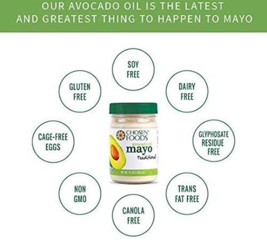 Mayonnaise avec huile d'avocat - 355ml
