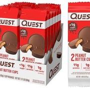 Quest Quest Nutrition - Coupes de beurre d'arachide enrobées de chocolat