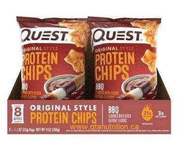 Quest Quest chips tortilla (8 saveurs) - boîtes (8 sacs/boîte)