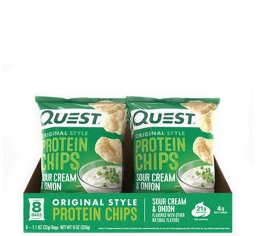 Quest chips tortilla (8 saveurs) - boîtes (8 sacs/boîte)
