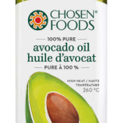 Chosen Foods Huile d'avocat 100% pure (1 L)