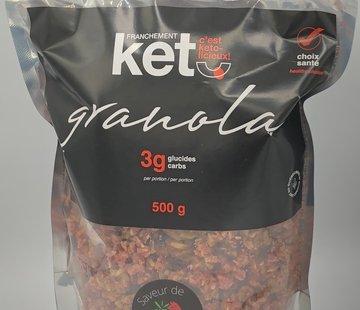 Franchement Kéto Granola cétogène à la fraise, 500g