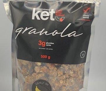 Franchement Kéto Granola cétogène à la banane, 500g