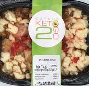 Keto2go Poutine Thai Keto / Cétogène (glu: 7,74)
